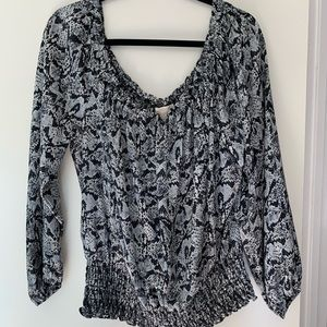 Michael Kors scoop neck blouse